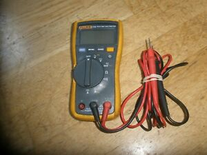 Fluke 115 True Rms Digital Multimeter With Leads