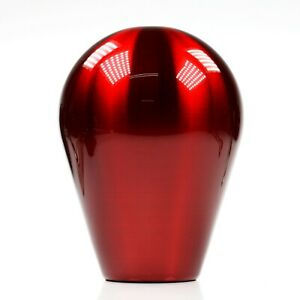 Ssco Candy Red Tear Drop 780 Grams Weighted Shift Knob 12x1 25mm Wrx Sti