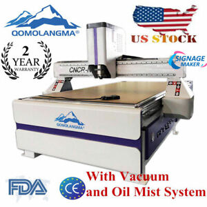 Us Stock 1325 Multifunctional Cnc Router vacuum Table vacuum Pump dust Collector