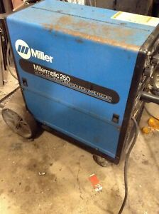 Millermatic 250 Cv dc Welding Power Source wire Feeder Will Ship Upon Request