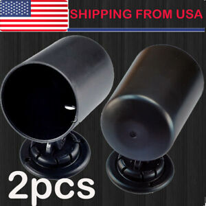 2pcs 2 52mm Universal Single Gauge Swivel Mount Meter Pod Cup