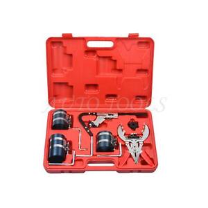 Piston Ring Compressor Expander Service Repair Engine Ratchet Cleaning Tool