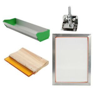 1pcs Silk Screen Printing Machine Press Supplies Kit For T shirt Diy Printer