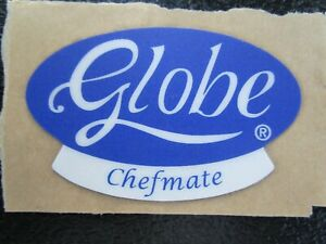 new Globe Chefmate Logo Decal Oem M91020 For G C Series