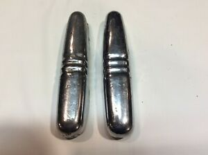 1940 1941 Ford Deluxe Vintage Bumper Guards pair