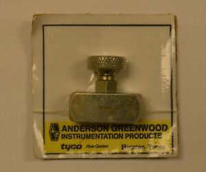 New Anderson Greenwood H5ric 2 Needle Valve 1 4 Female X 1 4 Female Nos
