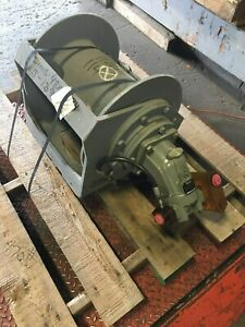 Braden Gearmatic Hoist Pd12c spl 29p27 02u Rated 4 320 Lbs New Old Stock