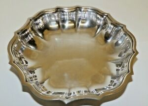 International Silver Company Chippendale Pattern Silver Candy Nut Dish
