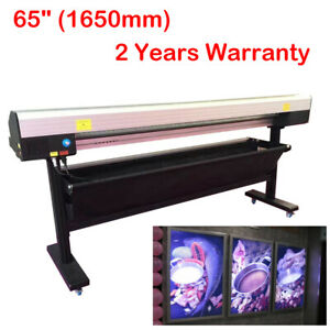 Us 65 Electric Rotary Paper Trimmer Semi auto Advertising Materials Cutter pvc