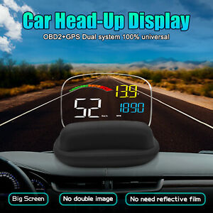 Digital Vehicle Head Up Display C800 Car Hud Speedometer Projector For All Cars