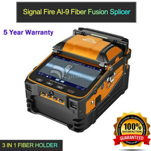 Ai 9 Automatic Optical Fiber Fusion Splicer 5 Tft Display Power Meter 3 In 1