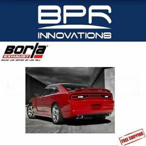Borla Cat back Exhaust S type For 11 14 Charger R t 5 7l V8 chrysler 300 140443