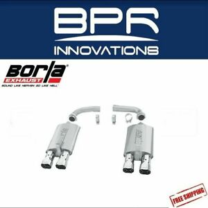 Borla Axle back Exhaust S type For 84 1991 Chevrolet Corvette C4 5 7l V8 11376