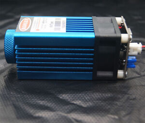 Focusable 450nm 5w Blue Laser Module ttl carving W gift Goggles