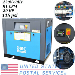 Hpdmc Us Air Compressor 15 Hp 60hz Frequency Drive Rotary Screw Air Compressor