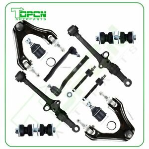 Front Suspension Parts 12 Pieces Fits For 94 97 Honda Accord Ball Joint Tie Rod