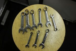 Snap On Tools 9 Pc Metric Stubby Combination Wrench Set 10 19mm Oxim19b