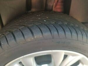 4 Raptor Riken 215 45 17 M s with Less Of 1500 Thousand Miles Just Tires No Rims