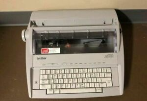 Brother Gx 6750 Electric Typewriter Great Working Condition Mint Condition