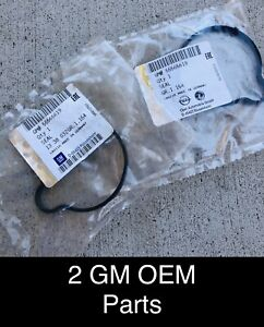 2 55565619 Acdelco Gm Oem Engine Coolant Thermostat Housing Seal 3 B