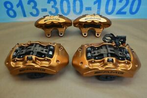 2012 Mercedes E63 Cls63 Amg Brembo Calipers Front Rear 6 4 Piston Copper