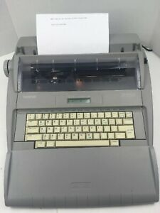 Brother Sx 4000 Electronic Typewriter Tested Working Great Great Condition