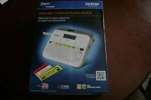 Brother P touch Pt d400 Versatile Label Maker Brand New