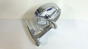 Vintage Car Truck Outside Mirror Joma 300 Tri Bar Chrome 1950s 60s Excellent