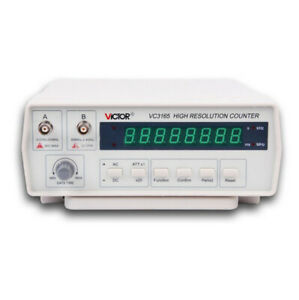 Victor Vc3165 110v 220v Professional Precision Frequency Counter Meter