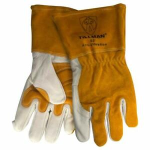 Tillman 52 Top Grain Cowhide Anti vibration Mig Welding Gloves Medium