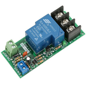 Hot Sale 12vdc 30a Multifunction Adjustable Delay Timer Relay On off Module