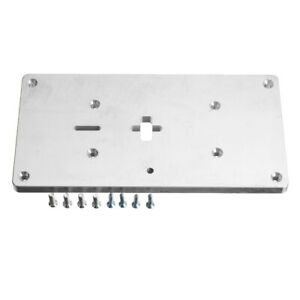 Aluminum Router Table Insert Plate With Fixing Screws For Jig Saw Woodworking Be