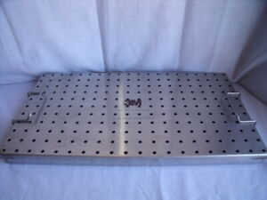 3m Di09 Fluted Femoral Rod Autoclave Tray Small Diameters 9mm 12mm O1