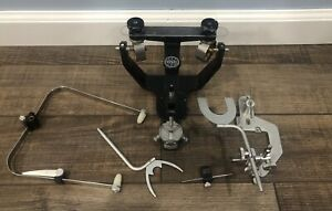 Hanau Wideview Dental Articulators With Springbow Facebow Set