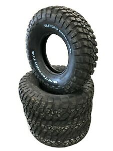 4 New Tires 285 75 16 Bf Goodrich Mud Terrain Ta Km2 10ply Whiteletters Lre