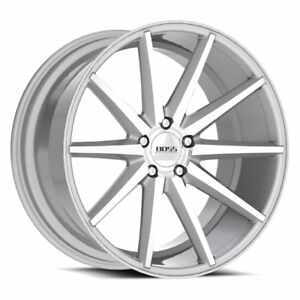 20x8 5 Mercedes Audi Vw Boss Diamond Cut Silver Wheels Rims Set 5x112