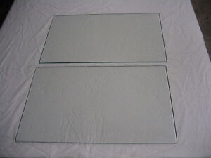 1928 Ford Model A Leatherback Fordor Briggs Body Rear Door Glass Right