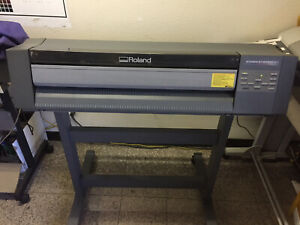 Roland Colorcamm Pc 600 24 Thermal Transfer Printer cutter