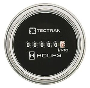 Gauge Hourmeter 4 40 Vdc Ss pack Of 1