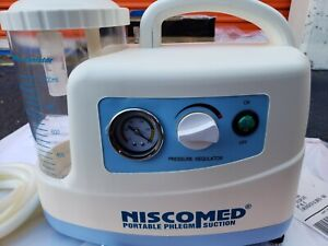 Niscomed Portable Phlegm Suction Machine For Low Vaccum