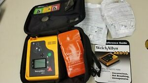 Welch Allyn Aed 10 Very Clean Needs Battery