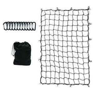 4x6ft Bungee Cargo Net For Pickup Trucks Suv Beds Trailers Mesh