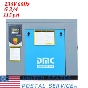 Air Compressor 10 Hp Drive Rotary Screw 230v 60hz For Industrial Application Us