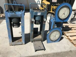 Lot Of Soiltest Forney Ct 711 Hydraulic Shop Press Concrete Tester