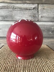 Vintage Ruby Red Exit Light Sign Exit Lamp