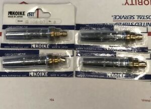 Four 4 Brand New Koike 106 d7 8 Gas Cutting Tip With Free Shipping