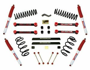 Skyjacker 4 Standard Series Suspension Lift Kit Hydro Shocks For 03 06 Wrangler