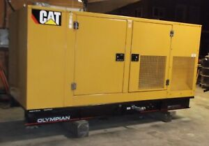 Cat Olympian 125 Kw Natural Gas Generator Set W 49 Hours 2006
