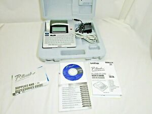 Brother P touch Pt 2710 Thermal Printer Label Maker With Case