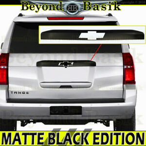 2015 2019 Chevy Suburban Tahoe Matte Black Tailgate Liftgate Handle Cover Upper
